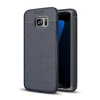 Celular capa capa para Samsung Galaxy S6 capa case de moldura azul