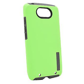 Incipio DualPro Case for Motorola Droid Turbo (Neon Green/Neon Grey)