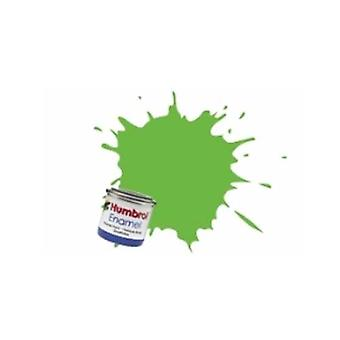Lo smalto Humbrol vernice 14ML No 38 Lime - Gloss