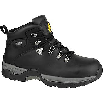 Amblers Safety Mens FS17 Leather Waterproof Safety Boots Black