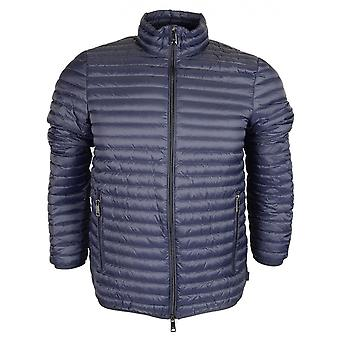Emporio Armani Down Quilted Zip Up Navy Jacket