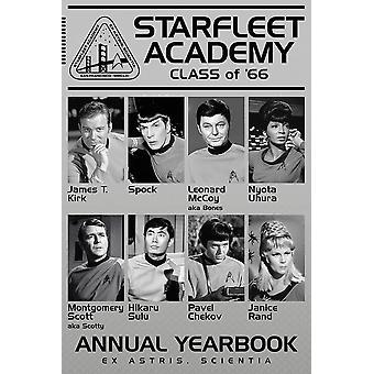 Classe affiche Star Trek de 66'