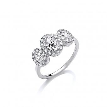 Cavendish French Just Like Diamonds Ring