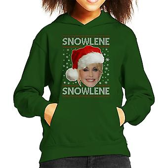 Dolly Parton Snowlene Kid's Hooded Sweatshirt