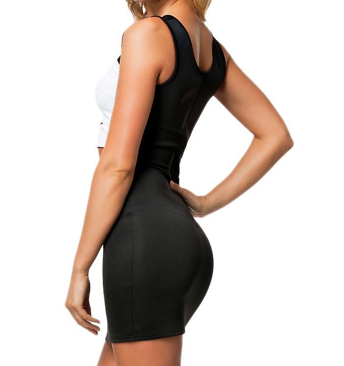 Waooh - Fashion - Short dress openwork Bimaterial