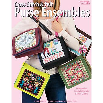Cross Stitched Purses and Accessories by Kooler Design Studio - 97816
