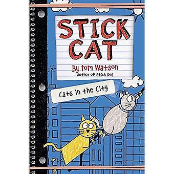 Gato de pau: Gatos na cidade (gato de pau)
