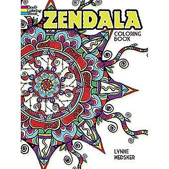 Zendala Coloring Book (Dover Design Coloring Books)
