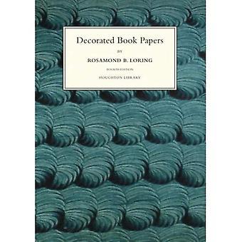 Dekorert boken Papers: Er en beretning om sine design og mote (Houghton biblioteket publikasjoner)