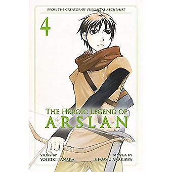 La légende héroïque d'Arslan 4, le