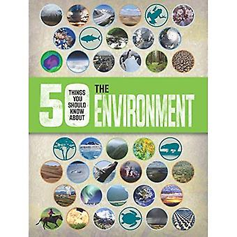 50 Things you should know about: The Environment (50 Things You Should Know Abt)