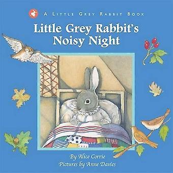 Wenig grau des Kaninchens laute Nacht (kleine graue Kaninchen Pop-Out-Bk)