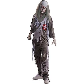 Doktor Zombie Erwachsenen Kostüm