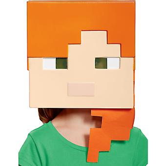 Minecraft Alex Vacuform maske