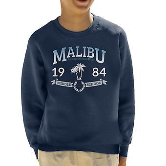 Malibu 1984 Middle School Kid's Sweatshirt