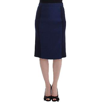 House Of Holland Blue Pencil Skirt -- SIG1842821