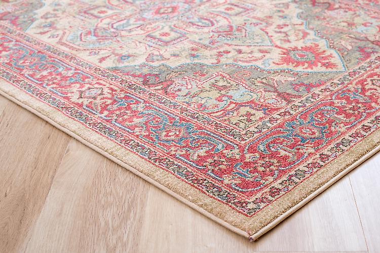 Ziegler 8788-Beige Multicoloured Rectangle Rugs Traditional Rugs