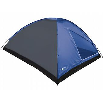 Yellowstone 4 Person Waterproof Dome Tent (Blue)