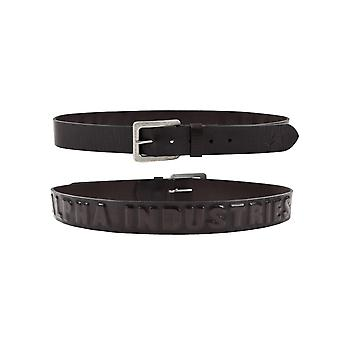 Alpha industries unisex belt 3D leather