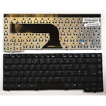 EI-Systeme E-System 4411 schwarz UK Layout Ersatz Laptop-Tastatur