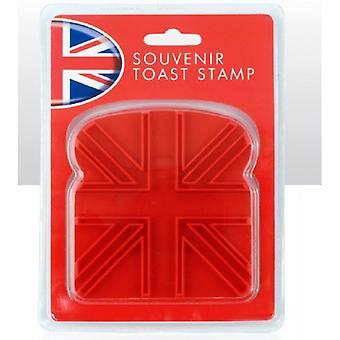 Union Jack usar sello de tostadas de Union Jack