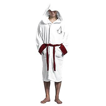 Assassin es Creed Adult Logo Dressing Gown-ONE SIZE