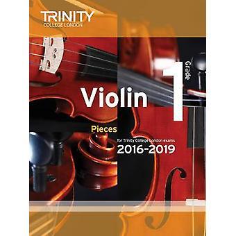 Violin Exam Pieces Grade 1 2016-2019 (Score & Part) by Trinity Colleg
