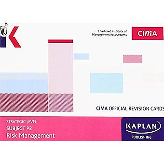 P3 RISK MANAGEMENT - REVISION CARDS by KAPLAN PUBLISHING - 9781784159