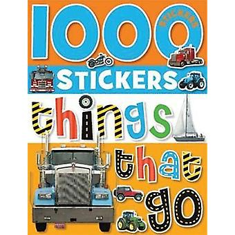1000 Stickers - Things That Go by Make Believe Ideas Ltd - 97818487907