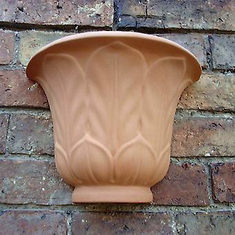 Hanging Terracotta Lincoln Wall Pot Planter