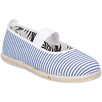 Flansy Girls Infants Ninez Slip On Casual Summer Pump Shoes