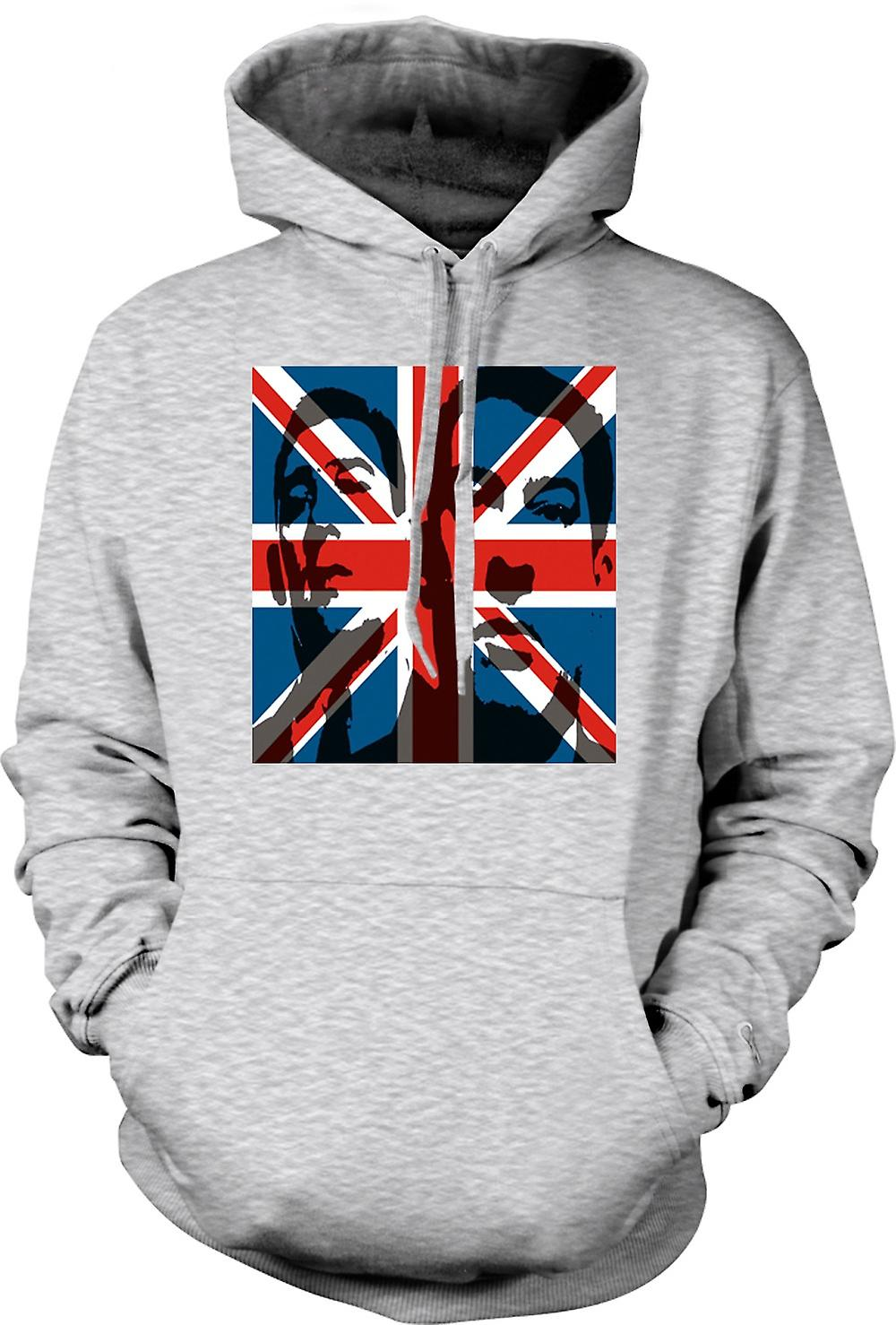 Mens Hoodie - L'Union Jack Krays - Gangster