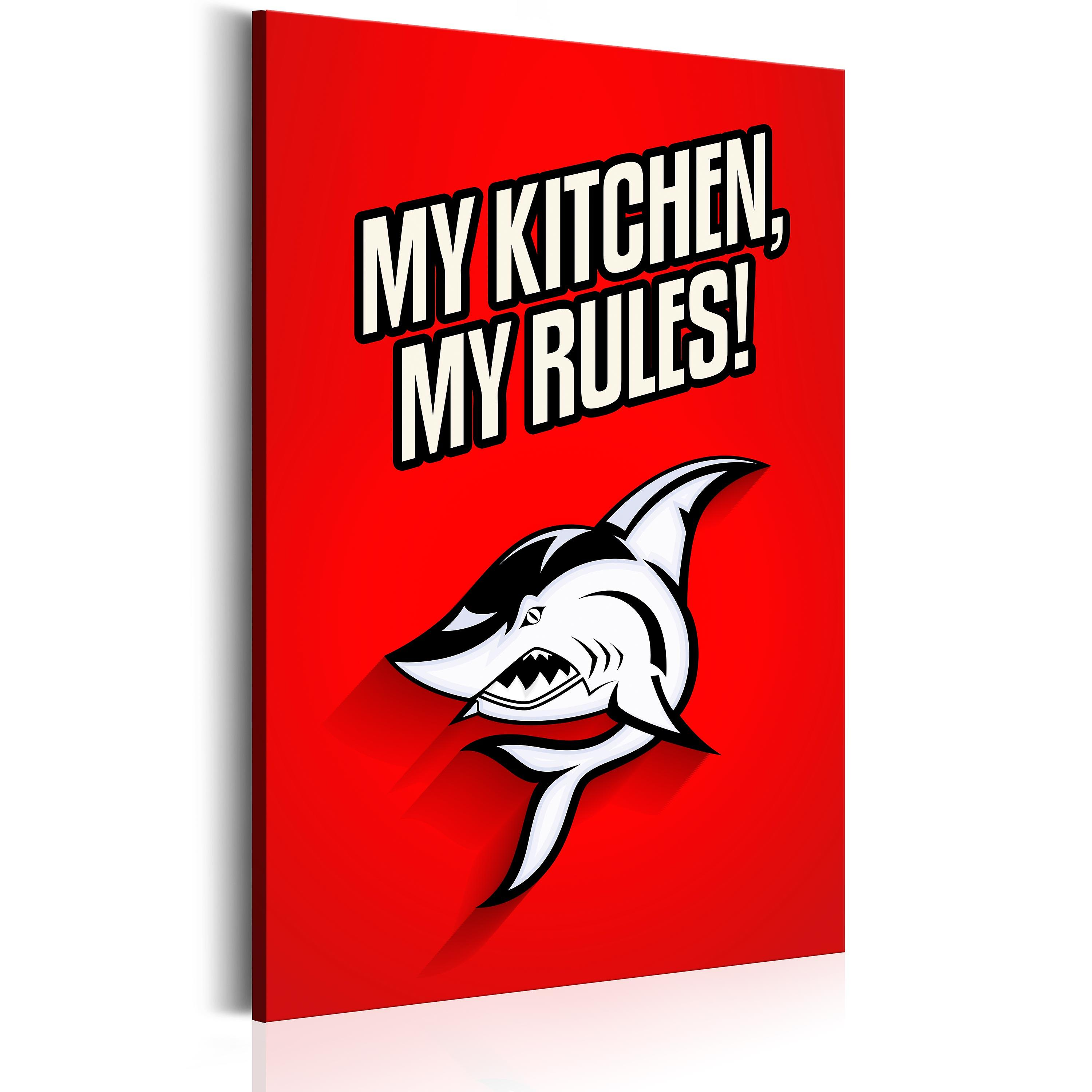 Tableau - My kitchen, my rules