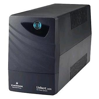 Emerson network power li32111ct00 ups 360w 600va full load duration in blackout 5min black color