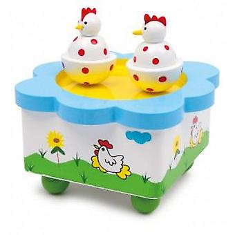 Legler Watch Music  Hens Dancing  (Babies and Children , Toys , Others)