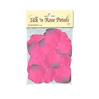 Seide Rosenblüten - Pink