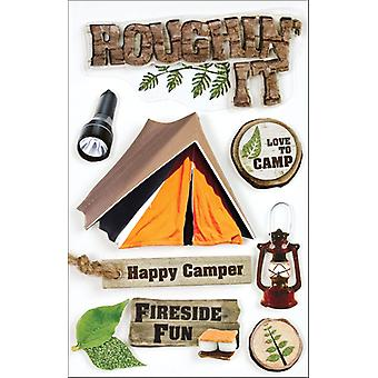 Camping 3 D Stickers Roughn' het Stdm0007