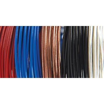 Plastic Coated Fun Wire Value Pack 9 Foot Coils 22 Gauge Primary 5 Pkg Vp84 84459