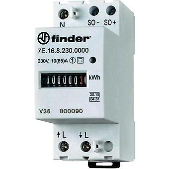 Electricity meter (AC) mechanical 65 A MID-approved: Yes Finder 7E.16.8.230.0010