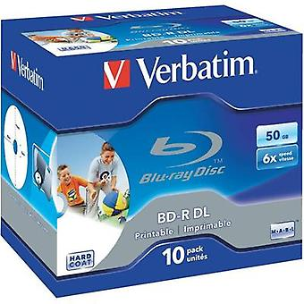 Verbatim Blu-ray blank 43736 10 pc(s) 50 GB