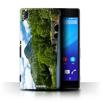 STUFF4 Case/Cover for Sony Xperia M4 Aqua/Bridge/Mountain/Scottish Landscape