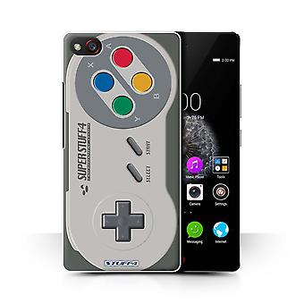 STUFF4 Case/Cover for ZTE Nubia Z9 Mini/Super Nintendo/Games Console