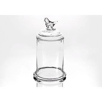 Amadeus Cover jar Pajaro Gm (Home , Kitchen , Storage and pantry , Glass jars)
