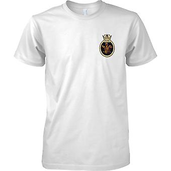 HMS Sentinel - Decommissioned Royal Navy Ship T-Shirt Colour