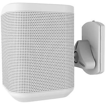Speaker wall mount Swivelling/tiltable, Swivelling Distance to wall (max.): 10 cm NewStar Products White 1 pc(s)