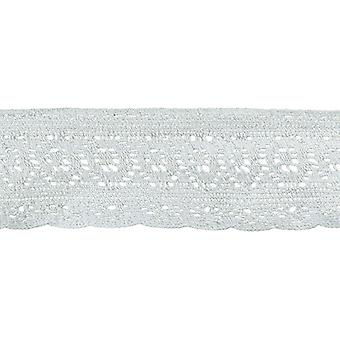 Antique Cotton Cluny Lace Trim 2-3/8
