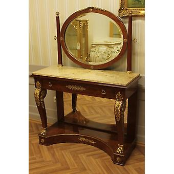 baroque make-up table antique style rococo Louis XV MoBd0770Bg