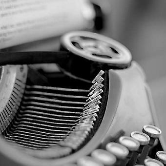 Retro-Typewriter - 3 Poster Print by Alan Blaustein