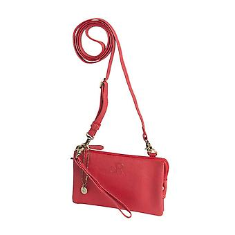 Dr Amsterdam shoulder bag/Clutch Mint Tango Red