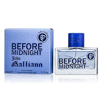 John Galliano Before Midnight Eau De Toilette Spray 50ml/1.7oz